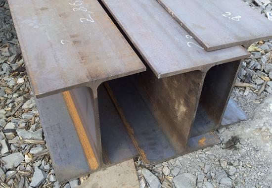 Стальная двутавровая балка в наличии на базе металла в Первоуральске