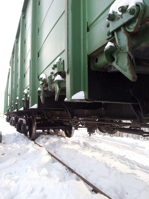 Отгрузка вагонов в Первоуральске