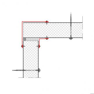 Фасонный элемент угловой